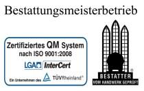 Bestattungsmeisterbetrieb, Mühlheim an der Ruhr, QM System